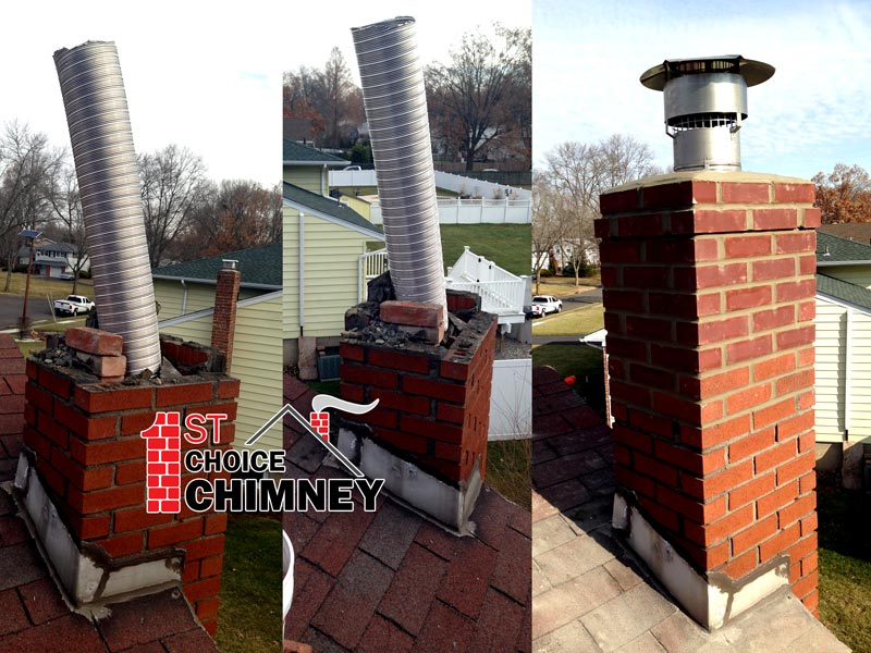Chimney Liner And Cap