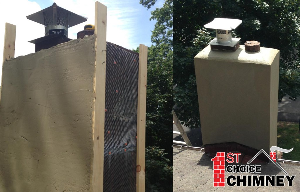 Chimney Repair Repairing Chimney Structure Inside And Outside