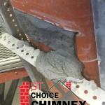 heat shield chimney repair